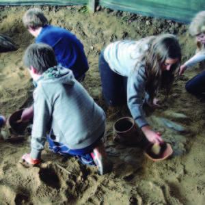 la granja colonias prehistoria