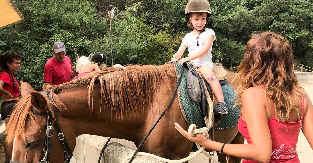 La Granja Equitación Caballos